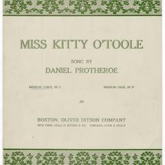 Miss Kitty O'Toole