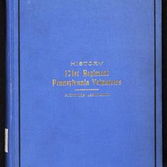 History of the 121st regiment Pennsylvania volunteers : an account from the ranks