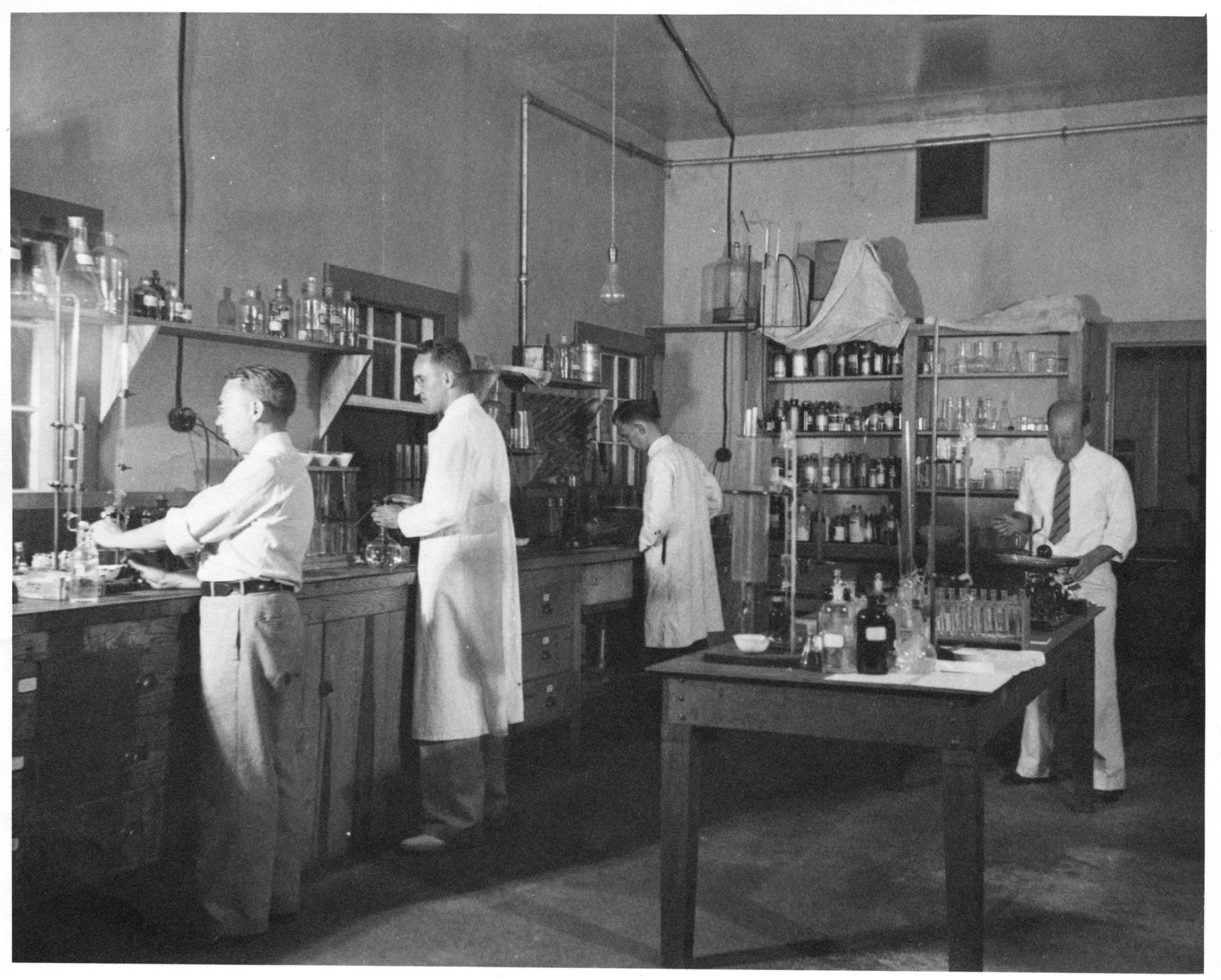 Hasler and other researchers at Yorktown Lab