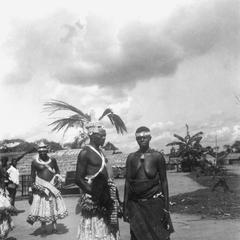 Closer View of Kuba-Kete Village Chiefs