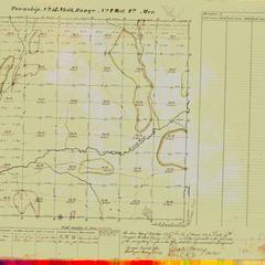 [Public Land Survey System map: Wisconsin Township 17 North, Range 04 West]