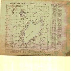 [Public Land Survey System map: Wisconsin Township 05 North, Range 20 East]