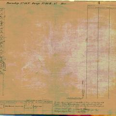 [Public Land Survey System map: Wisconsin Township 18 North, Range 20 East]