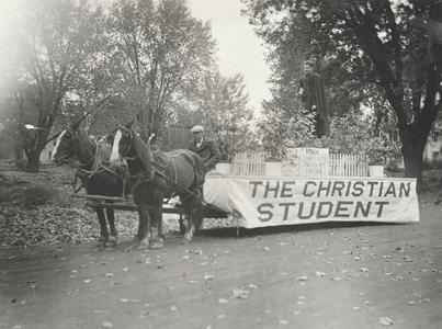 Homecoming parade, 1927