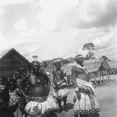 Another Close View of Kuba-Kete Village Chiefs