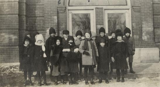Second grade students in New Richmond