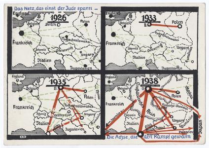 Das Netz, das einst der Jude spann-- Die Achse, die den Kampf gewann