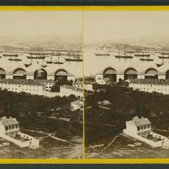 La rade : vue prise de la Tour carrée (Toulon)