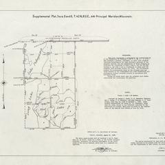 [Public Land Survey System map: Wisconsin Township 40 North, Range 05 East]