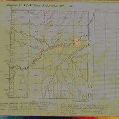 [Public Land Survey System map: Wisconsin Township 47 North, Range 15 West]