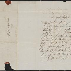 [Letter from Resi to Hannchen, ca. 1851]