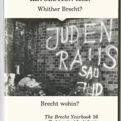 Revolution 1989 : whither Brecht?