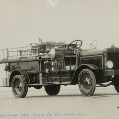Winther fire truck
