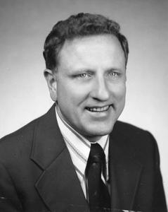 Hockey coach Bob Johnson