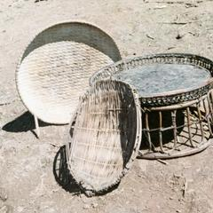 Basketry used in a White Hmong household in Houa Khong Province