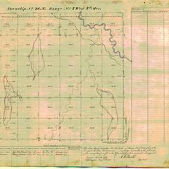 [Public Land Survey System map: Wisconsin Township 26 North, Range 07 West]