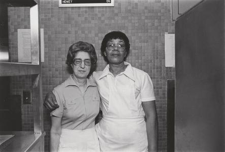 Lakefront Cafeteria food service workers