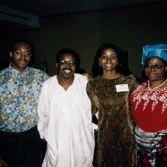 Students at 1995 multicultural graduation celebration