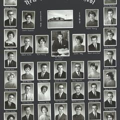 1964 New Glarus High School graduating class