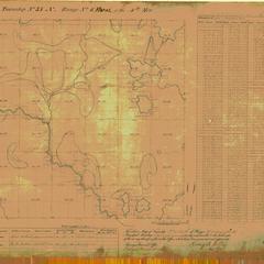 [Public Land Survey System map: Wisconsin Township 37 North, Range 06 East]