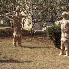 Statues at the Institute of African Studies