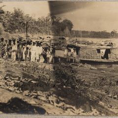 Embarkadero at Mang a ling at Isabela, 1910.