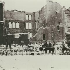 Normal School after 1914 fire