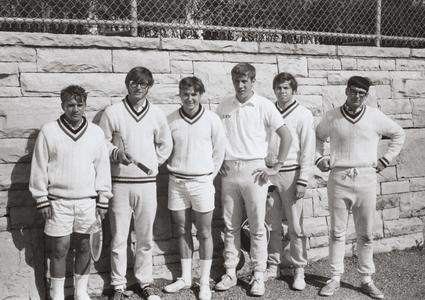 Men's tennis team, 1969