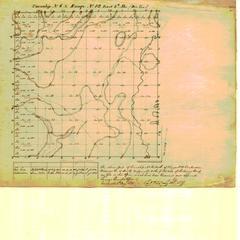 [Public Land Survey System map: Wisconsin Township 06 North, Range 12 East]
