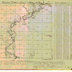 [Public Land Survey System map: Wisconsin Township 20 North, Range 10 West]