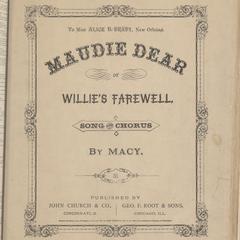 Maudie dear
