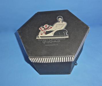 Maurice L. Rothschild black hatbox