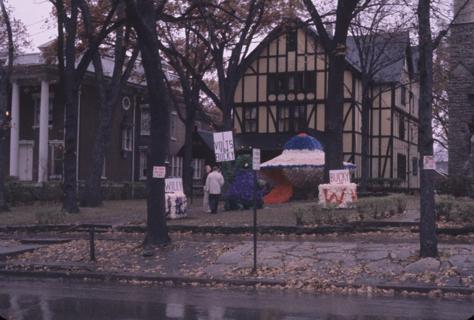 Homecoming 1960 decoration