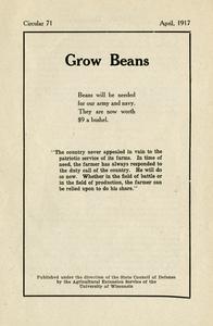 Grow beans