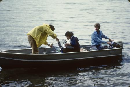Fish sampling North Temperate Lakes Long Term Ecological Research (LTER) (19)