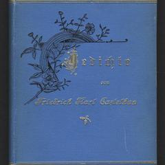 Gedichte von Friedrich Karl Castelhun
