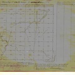 [Public Land Survey System map: Wisconsin Township 29 North, Range 15 West]