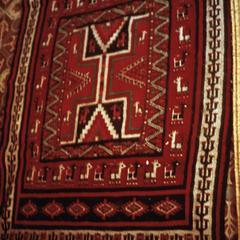 Hand-Woven Tunisian Carpet