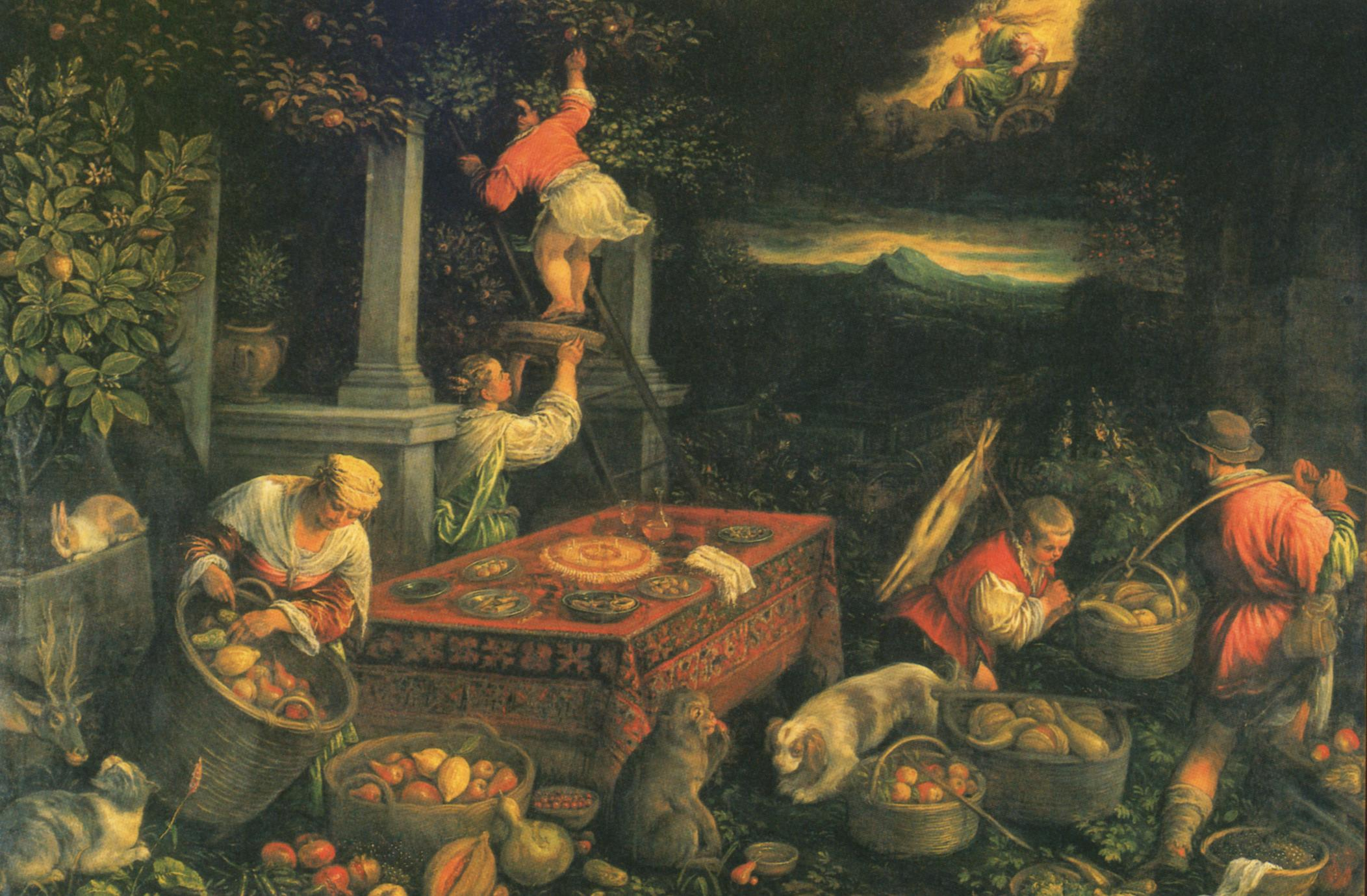 Allegory of the Element Earth