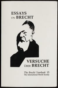 Essays on Brecht