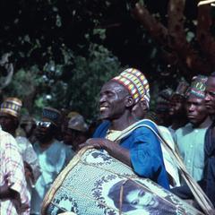 A Hausa Drummer in Kawari, Niger