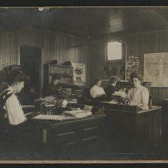 Dr. David Roberts' office, Waukesha, interior