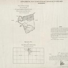 [Public Land Survey System map: Wisconsin Township 28 North, Range 15 East]