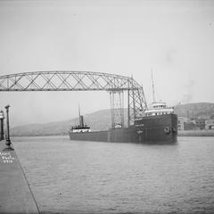 Samuel Mather Departing Duluth Superior Harbor
