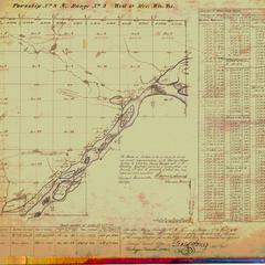 [Public Land Survey System map: Wisconsin Township 08 North, Range 03 West]
