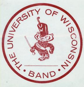 UW Marching Band decal