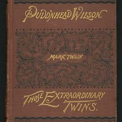 The tragedy of Pudd'nhead Wilson : and the comedy those extraordinary twins