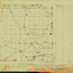 [Public Land Survey System map: Wisconsin Township 14 North, Range 07 East]