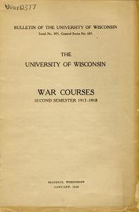 War Courses, World War I