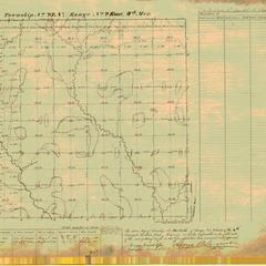 [Public Land Survey System map: Wisconsin Township 23 North, Range 02 East]